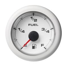 """VDO 2-1\/16"""" (52mm) OceanLink Fuel Level Empty  Full White Dial  Bezel [A2C1065940001]"""