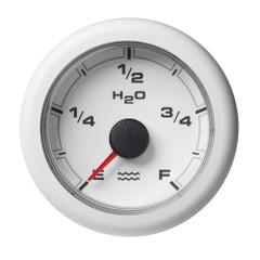 """VDO 2-1\/16"""" (52mm) OceanLink Fresh Water Empty  Full White Dial  Bezel [A2C1065920001]"""