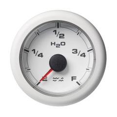 """VDO 2-1\/16"""" (52mm) OceanLink Waste Water Empty  Full White Dial  Bezel [A2C1065900001]"""