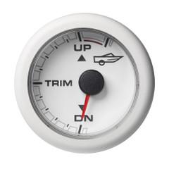 "VDO 2-1\/16"" (52mm) OceanLink Engine Trim - Up\/Down - White Dial  Bezel [A2C1065840001]"