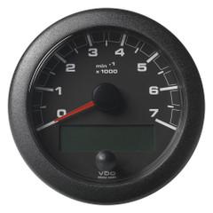 "VDO 3-3\/8"" (85mm) OceanLink NMEA 2000 Tach - 7000 RPM - Black Dial  Bezel [A2C1065810001]"