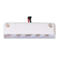 Innovative Lighting 5 LED Surface Mount Step Light - Red w\/White Case [006-4100-7]