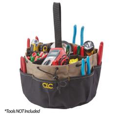 CLC 18 Pocket Draw String Bucket Bag [1148]