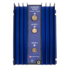 Analytic Systems Single Bank Battery Isolator, 200A, 40V [IBI1-40-200]