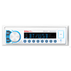 Boss Audio Marine Audio Receiver MR400UAB AM\/FM\/BT - White [MR400UAB]