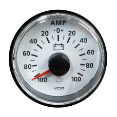 VDO ViewLine Ivory 100A Ammeter - Includes Required Shunt - Bezel NOT Included [A2C53210974-K]