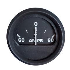 Faria Ammeter Gauge (60-0-60 Amps) - Black [12822]