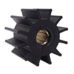 Albin Pump Premium Impeller - 95 x 25 x 63mm - 12 Blade - Spline Insert [06-02-028]