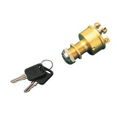 Sea-Dog Brass 3-Position Key Ignition Switch - Magento [420351-1]