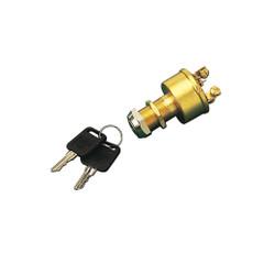 Sea-Dog Brass 4-Position Key Ignition Switch - 4-Screw [420356-1]