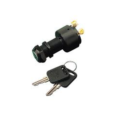 Sea-Dog Polyprolylene Three Position Key Ignition Switch - Long Shaft [420360-1]