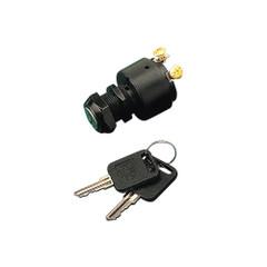 Sea-Dog Polyprolylene Three Position Key Ignition Switch - Short Shaft [420361-1]