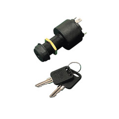 Sea-Dog Polypropylene Four Position Key Ignition Switch - 4 Blade [420379-1]