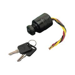 Sea-Dog Polypropylene Three Position Key Ignition Switch w\/Choke - 6 Wires [420383-1]