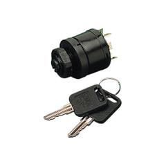 Sea-Dog Polypropylene Four Position Key Ignition Switch w\/Choke - 7 Screw [420385-1]