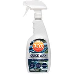303 Marine Quick Wax with Trigger Sprayer - 32oz *Case of 6* [30213CASE]