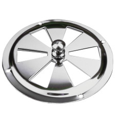 "Sea-Dog Stainless Steel Butterfly Vent - Center Knob - 5"" [331450-1]"