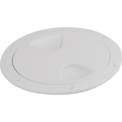"Sea-Dog Screw-Out Deck Plate - White - 6"" [335760-1]"