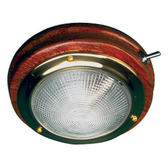 "Sea-Dog Teak LED Dome Light - 5"" Lens [400209-1]"