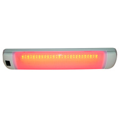 Aqua Signal Maputo Rectangular Multipurpose Interior Light w\/Rocker Switch - Red\/White LED [16530-7]