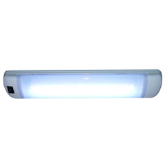 Aqua Signal Maputo Rectangular Multipurpose Interior Light w\/Rocker Switch - Hi-White\/White LED [16531-7]