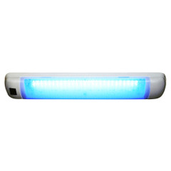 Aqua Signal Maputo Rectangular Multipurpose Interior Light w\/Rocker Switch - Blue\/White LED [16533-7]