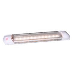 Aqua Signal Malabo Rectangular Multipurpose Interior Light w\/Illuminated Switch - White LED [16541-7]