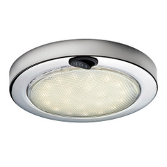 Aqua Signal Colombo LED Dome Light - Warm White\/Red w\/Stainless Steel Housing [16601-7]