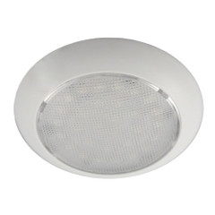 Aqua Signal Colombo LED Dome Light - Warm White\/Red w\/White Plastic Housing - No Switch [16604-7]