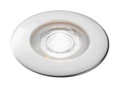 Aqua Signal Atlanta LED Downlight - White\/Red LED w\/Chrome Housing [16622-7]