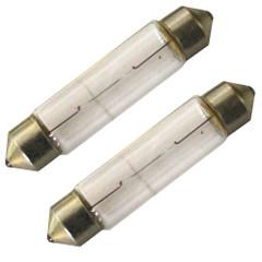 Aqua Signal 10W\/12V Convex Festoon Bulb f\/New Style Series 25 Navigation Lights - Pair [90203-7]