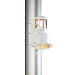 Aqua Signal Series 41 Masthead\/Foredeck Combo Mast Mount Light - 12V- White Housing [41405-1]