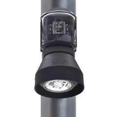 Aqua Signal Series 43 Masthead\/Foredeck Mast Mount Combo Light - 12V\/24V - Black Housing [3108201000]
