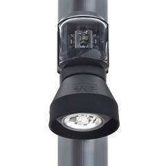 Aqua Signal Series 43 Masthead\/Foredeck Mast Mount Combo Light - 12V\/24V - Black Housing [3108201000]