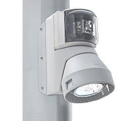 Aqua Signal Series 43 Masthead\/Foredeck Mast Mount Combo Light - 12V\/24V - White Housing [3108202000]