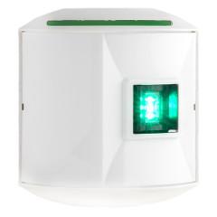 Aqua Signal Series 44 Starboard Side Mount LED Light - 12V\/24V - White Housing [44201-7]