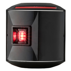 Aqua Signal Series 44 Port Side Mount LED Light - 12V\/24V - Black Housing [44300-7]