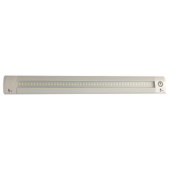 "Lunasea 12"" Adjustable Linear LED Light w\/Built-In Touch Dimmer Switch - Cool White [LLB-32KC-01-00]"
