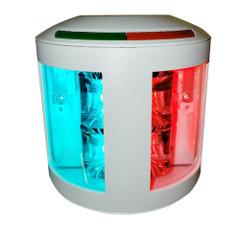 Aqua Signal Series 43 Bi-Color Side Mount Light - 12V\/24V - White Housing [43101-7]