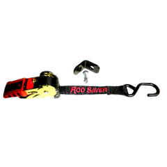 "Rod Saver Retractable Bow Tie-Down w\/Bracket - 1"" x 5 [RTBTD]"