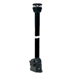 "Aqua Signal Series 30 All-Round Black Fold-Down Deck Mount LED Light w\/21.5"" Mounting Arm - Black Housing [KS30546000]"