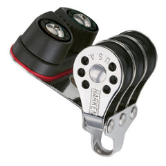Harken 22mm Triple Micro Block w\/Cam Cleat- Fishing [230F]