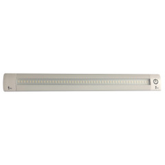 "Lunasea LED Light Bar - Built-In Dimmer, Adjustable Linear Angle, 12"" Length, 24VDC - Warm White [LLB-32KW-11-00]"