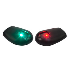 Sea-Dog Black Side Mount LED Navigation Lights - 1 NM - Port  Starboard [400078-1]