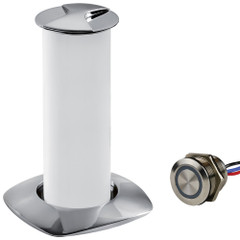 Sea-Dog Aurora Stainless Steel LED Pop-Up Table Light - 3W w\/Touch Dimmer Switch [404610-3-403061-1]