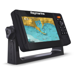 Raymarine Element 7 S Combo NC2 Chart with Fishing Hot Spots - No Transducer - Uses CPT-S Tranducers [E70531-00-101]