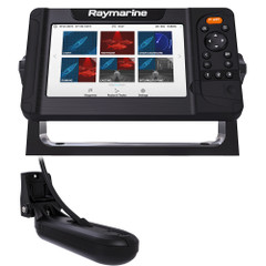 Raymarine Element 7 HV Combo w\/HV-100 Transducer  LNC2 Chart w\/Fishing Hot Spots [E70532-05-101]