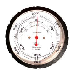 BARIGO Handheld Altimeter w\/Case - 6,000M Standard Dial [29.6M]