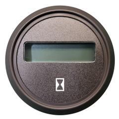 "Faria 2"" Cummins Hourmeter Euro Black w\/Black Bezel [961110]"