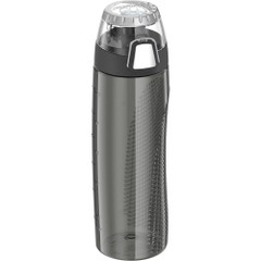 Thermos Hydration Bottle w\/Rotating Intake Meter - BPA Free - 24oz - Smoke [HP4000SMTRI6]